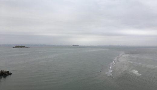 【ポイント探訪】シーバスウェーディングの聖地富津岬を上から眺めてみた