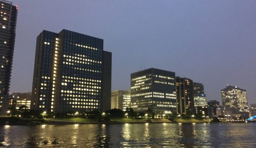 【GWの隅田川バチ抜けシーバス釣行】気合は十分時合は二十分…?
