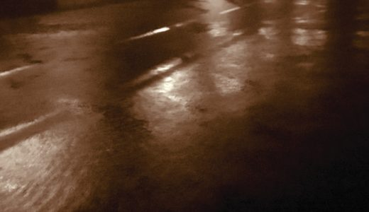 【中川荒川土砂降りシーバス釣行】水温急降下でブイシーだったけど…
