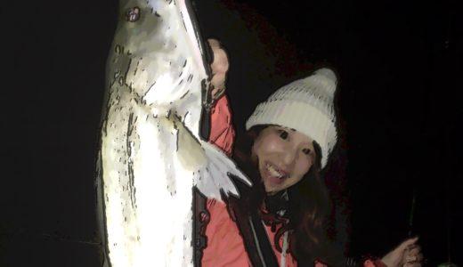 【爆釣!東京湾ボートシーバス釣行】誕生日は夫婦で夜景クルーズを兼ねて…