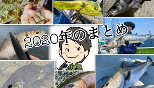 【2020年のまとめ】今年の釣りを振り返って