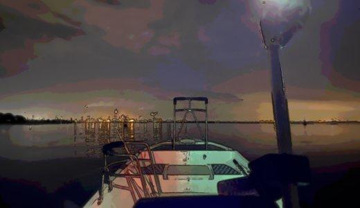【アジメバ調査】初のナイトソロ出船